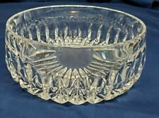 """Vintage 1980's Gorham ALTHEA Lead Crystal 7"""" ROUND BOWL W Germany MINT"""