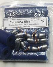 5 Sticks Carnuaba Blue Cast Bullet Lube 2800fps White Label Lube  FREE SHIPPING