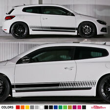 Stickers Decal Side Stripes for VW Volkswagen Scirocco Sport Mirror Door Lamp