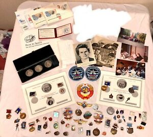 NASA Astronaut Shuttle Readdy Russian Soviet Cosmonaut Wings Pins Coins Patch +