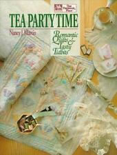 Tea Party Time: Romantic Quilts and Tasty Tidbits-ExLibrary