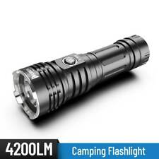 Flashlight Wuben T70, 4200 Lumens,Tactical Security  LED Torch , USB Recharge