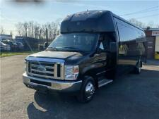 2013 Ford Econoline Commercial Cutaway 24 Pass Bus Limo Church Rv Shuttle Clean