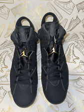 Nike Air Jordan 6 VI Retro DMP Black Metallic Gold Size 8.0 NEW CT4954-007 2020