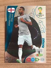 Adrenalyn XL Weltmeisterschaft 2014 Expert Karte Ashley Cole England Panini Card