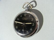Kienzle Markant Taschenuhr ~ Antimagnetic Messing Chrom Germany pocket watch