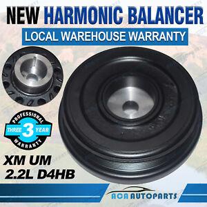 New for Kia Sorento XM UM 2.2L D4HB Diesel Harmonic Balancer Damper Pulley 09-on