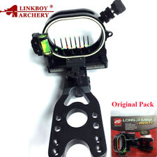Archery 0.019'' 8 Pin Fiber Optic Arrow Bow Sight Compound Bow Shooting Hunting