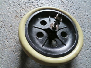 "One Rollator Replacement Rear Wheel, 7.5"" Diameter, 1.5"" Wide, plus Axle."
