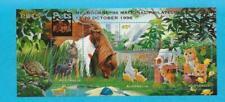 Mnh 1996 Australia Pets Mini Souvenir Sheet - Melbourne Overprint - Wb-36