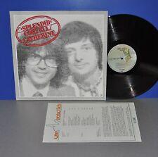 Larry Coryell Philip Catherine Splendid D 78 Elektra 1st promo facts M- Vinyl LP