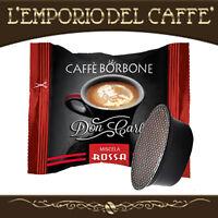 100 Capsule Cialde caffe Borbone Don Carlo Rossa compatibili Lavazza A Modo Mio