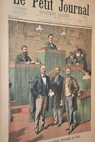 Paris, conseil municipal / Le petit journal sup illustré N°500 / 17 juin 1900