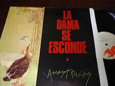 "LA DAMA SE ESCONDE - Avestruces, LP 12"" SPAIN 1985"