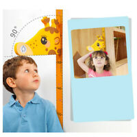 Children Height Chart Measure 3D Wall Sticker Decal Removable For Kid Baby Room
