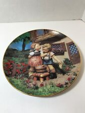 HUMMEL Porcelain Plate Squeaky Clean Little Companion Danbury Mint