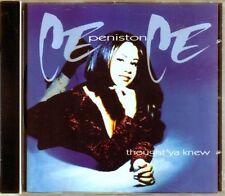 Ce Ce Peniston - Thought 'Ya Knew - CDA -1994 - Eurohouse House