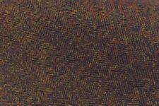 Brown Herringbone Lambswool Fabric 2.5 Meters Jacketing