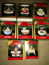 Hallmark Collectible Christmas Ornaments – Lot of 7 #cheaphallmark
