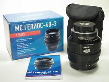 Helios - 40-2-N 5 f/1, 85 mm Ritratto Lente per Nikon a baionetta, nuovo design