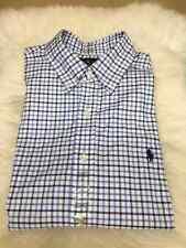 Ralph Lauren Men's Long Sleeve Button Down Casual Shirt Slim fit Size L