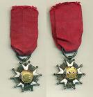 1 diminutif de l'ordre royal de la légion d'honneur epoque II république