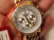 KRUG BAUMEN Mens Air Traveller Diamond Watch 400101DS                         *F