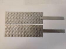 Platinum Mesh Anode Amp Titanium Mesh Cathode Set 2 By 6 With Stem Handle