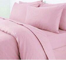 Plain Dyed Duvet Quilt Cover Polycotton -Double