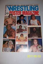 Wrestling POSTER Magazine 10 FULL Color GIANT Posters HULK Junkyard ANDRE Dusty