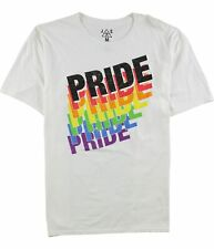 Jem Mens Pride Graphic T-Shirt, White, Xx-Large