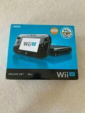 Nintendo Wii U 32GB Black Console Deluxe Set - WUPSKAFB