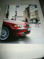 BMW 3 Series Compact brochure 2002 ed 1