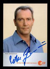 Peter Zimmermann caminos afortunadamente autografiada mapa original firmado # bc 108300