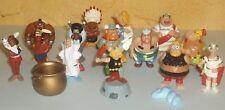 Rare lot série Kinder  1997  Astérix en Amérique complète 14 figurines + 1 BPZ