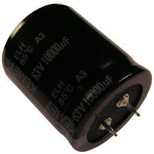 Kondensator KEMET ELH Elko 10000uF 63V 35x40mm 2 Pin Snap-in 85°C RM10 854369