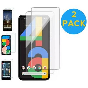 Tempered glass Screen Protector For Google Pixel  5 4a 3 2 XL Protection Guard
