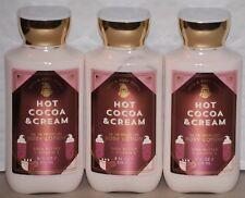 Bath & Body Works Hot Cocoa & Cream Body Lotion  Set of 3