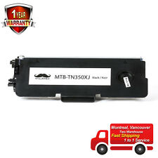 Toner for Brother TN350X  TN350 High yield 5000 pages DCP-7020 MFC-7220 MFC-7420