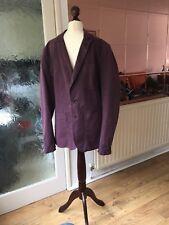 Paul Smith Dark Purple Blazer Jacket. Size Small.