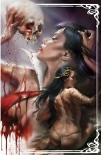 DYNAMITE Comics VAMPIRELLA DEJAH THORIS #1 Lucio Parrillo NYCC Virgin Variant NM