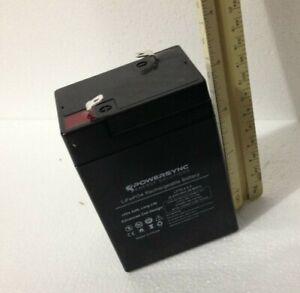 PowerSync LiFePO4 6V 4.5ah Battery Lithium