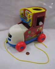 Fisher Price Mattel PULL ALONG LACING SHOE TOY Great Teaching Tool 2009 Replica