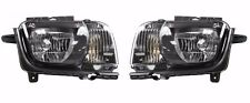 2010 2011 CHEVY CAMARO HEADLIGHT LAMP PAIR LEFT & RIGHT SET