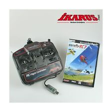 ikarus Flugsimulator AeroFlyRC7 - Aero Fly RC 7 Ultimate - DVD mit USB-Commander