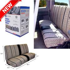 Truck Pickup Suv Car Saddle Blanket Bench Seat Cover Chevrolet Dodge Ford Black