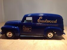 EASTWOOD COMPANY 1951 GMC PANEL VAN DIE CAST COIN BANK by ERTL #B274 1:25 SCALE