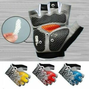 Road MTB Bicycle Cycling GEL Pad Short/Half Finger Gloves Bike Riding Fingerless