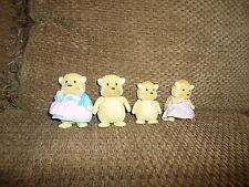 Set 4 Li'l Woodez set Hedgehog Family w/ Backs Swift Sweeper (G14)