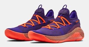 UNDER ARMOUR STEPH CURRY 6 SHOE GOLDEN STATE WARRIORS RARE DEEP ORCHID SNEAKERS